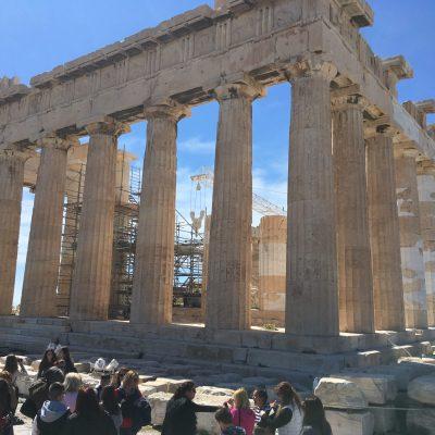 #35. Parthenon. Acropolis. Athens, Greece. Iktinos and Kallikrates. c. 447-410 BCE. Marble.