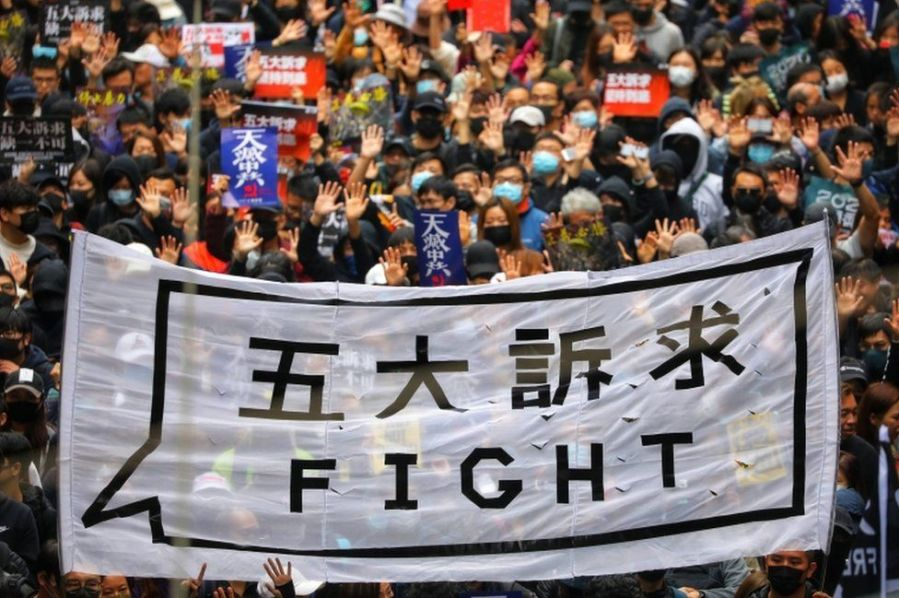 Lesson Plan: Hong Kong Protests via Twitter