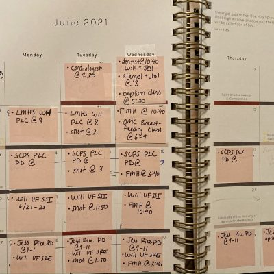 2021 Summer Plans