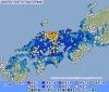 地震予知情報 鳥取M6.6震度6弱。国内注意のこり4日間