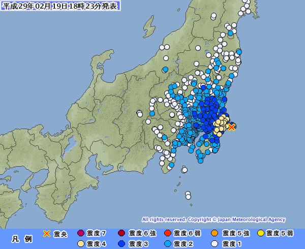 地震予知 前兆 千葉東方沖M5.4