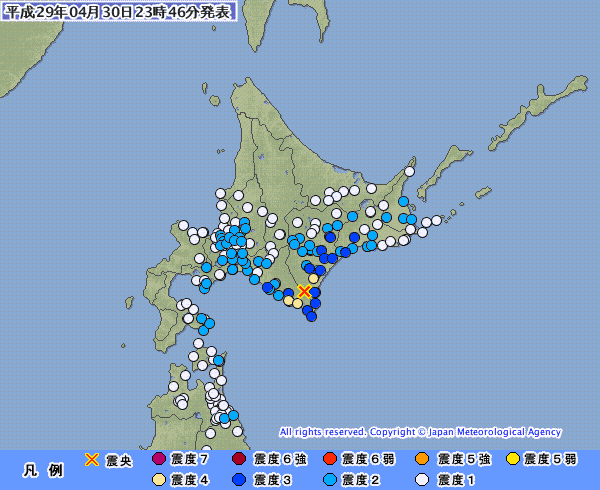 地震予知 予測 十勝南部M5.5