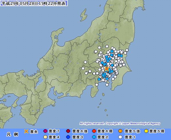 地震予知 予測 埼玉M4 福井M5.0 日本各地のスタンバイ連絡