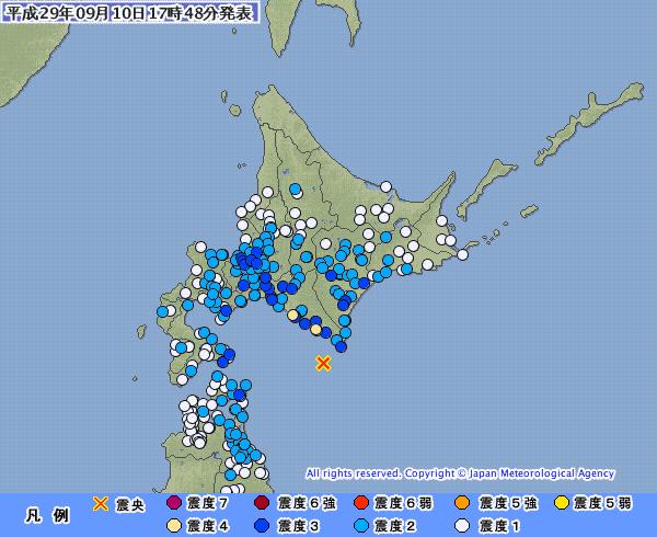 地震予知 予測 浦河M5.7 国内各地の反応とスタンバイ連絡
