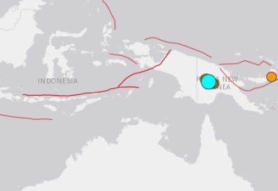 地震予知 パプアニューギニアM7.5 国内シグナルスタンバイ