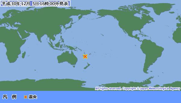 地震予知 南太平洋M7.6 電磁波ブロッキングに