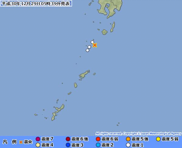 地震予知 国内M5シグナル 3日程度中規模注意に