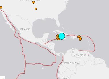 地震予知 キューバM7.7 国内M6~警戒のこり4日間