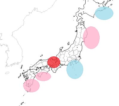 地震予知 国内M6気配は継続中です