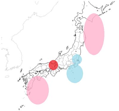 地震予知 国内M7注意 19回目の注意カウント開始