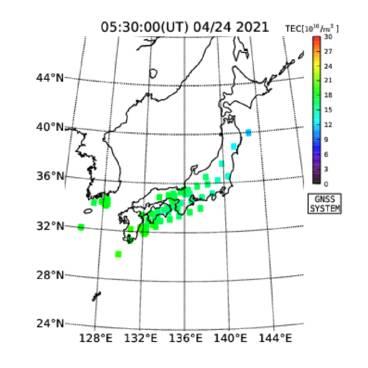 地震予知 M6~M7注意のこり9日間 国内M6シグナル再発してます