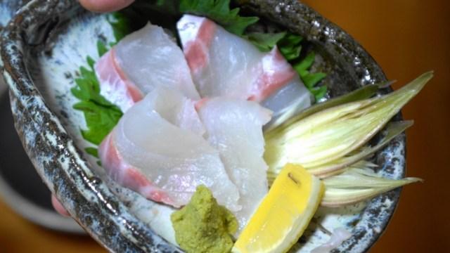 真鯛の刺身