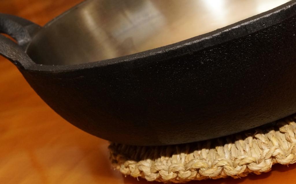 砂鉄鍋は頑丈で一生もの