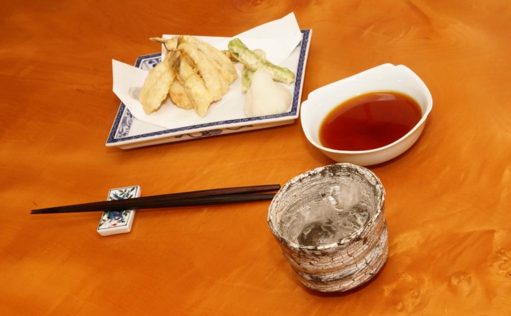 ハゼの天ぷらは江戸前の高級天ぷら種