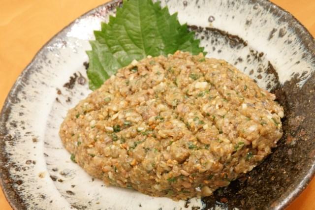 秋刀魚(サンマ)のなめろう!小骨が多い魚でも美味しく食べられる!