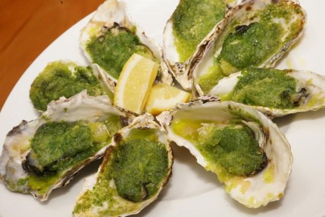 エスカルゴバターの作り方と、牡蠣のエスカルゴ風の作り方
