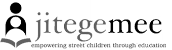 Jitegemee - empowering street children through education (logo)