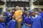 Jitegemee Students and School Director