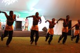 Energetic dancers at the opening ceremony.