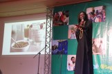 Emmanuel Jal - former child soldier and now rapper/humanitarian from South Sudan - entertained and inspired participants.