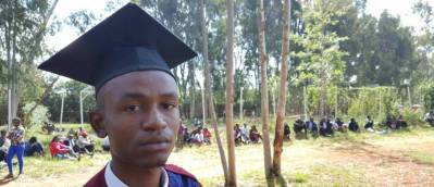 2017 University Graduate - John Kiluma - graduated from Cooperative University of Kenya with a BCom with a 2nd Class Upper. We are so proud of John for coming so far!