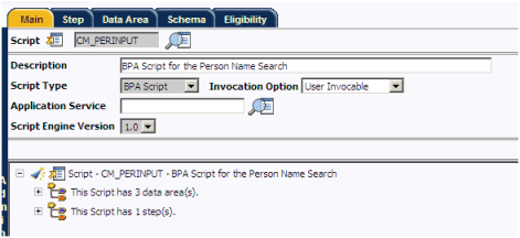 Creating BPA Script in Oracle Utilities / ORMB / CC&B