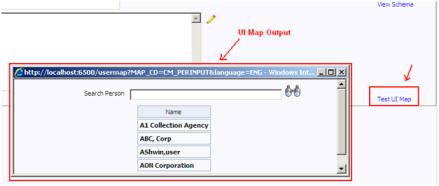Test UI Map in Oracle Utilities / CC&B / ORMB