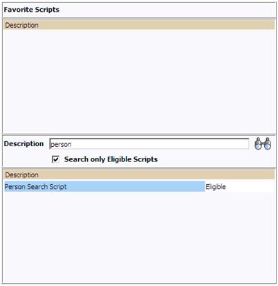 popup window to run the BPA Script / ORMB / CC&B