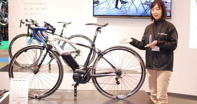 ヤマハの電動ロードバイクYPJ-Rについて聞いてみた!~サイクルモード速報~