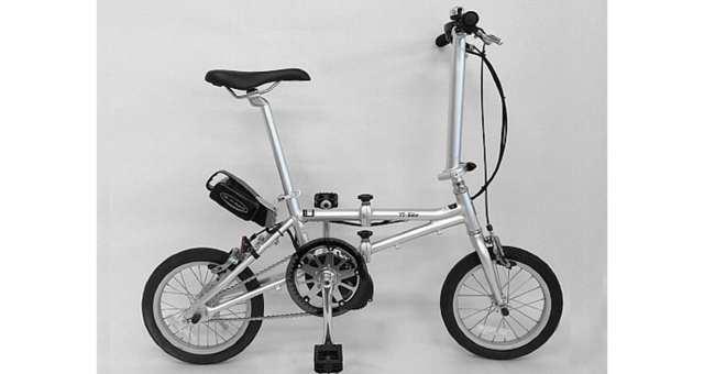 世界最軽量級電動アシスト付き折りたたみ自転車