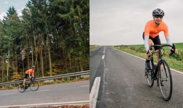 シフトチェンジ ギアチェンジ ロードバイク シチュエーション