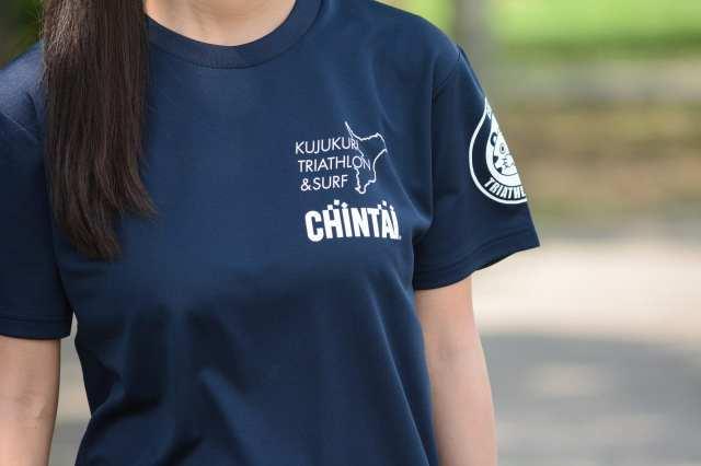 (おそろいのチームCHINTAI Tシャツ)