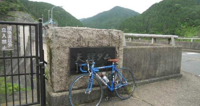 天理から長谷寺へ、上り峠サイクリング