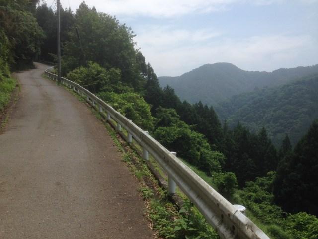 激坂ならではの爽快な景色です! 勾配も12%くらいあってしかも長い! 景色と勾配の両方が堪能できる素晴らしいコースです!