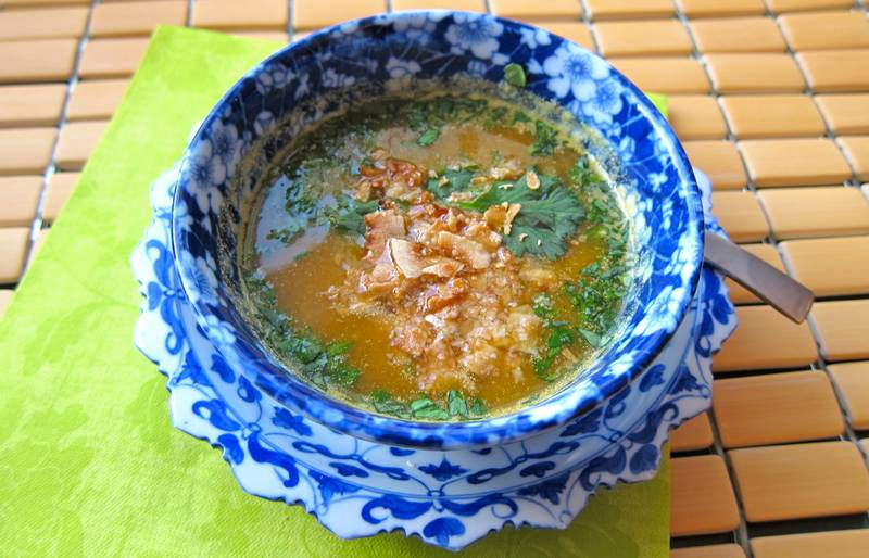 Curried Butternut Squash Soup – Something Bright and Beautiful!