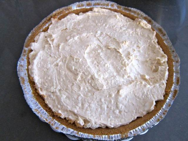Uncle Jaime's Mango Cheese Cacao Pie