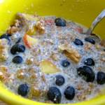 Chia Seed Porridge Lite, chia seed porridge, chia seed, hemp milk, non-dairy recipe, non-dairy cereal, milk substitute, healthy breakfast, healthy recipe, recipe, food, breakfast, health food, porridge, vegan recipe, vegan porridge