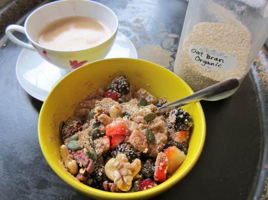 Oat Bran Breakfast