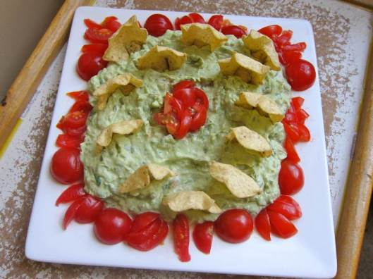 Avocado Dip with Chips