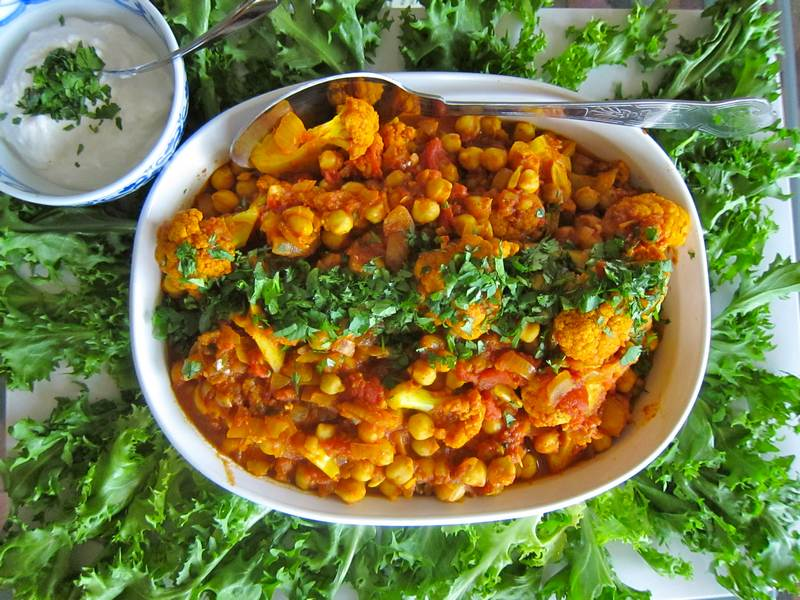 Spicy Vegetarian Curry - Hearty Fare