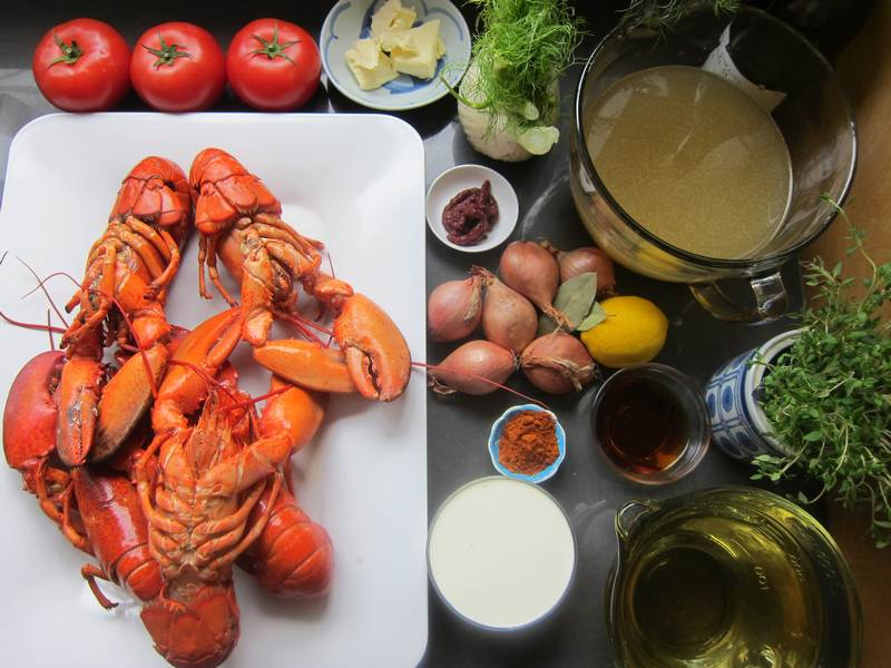 how to make lobster broth