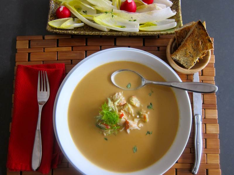 Lobster Bisque or Heavenly Sea Broth
