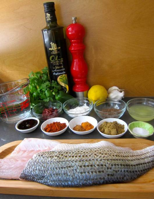Sea Bass in Red Hot Spicy Sauce