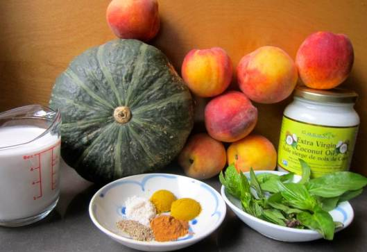 Curried Ginger Peach Soup