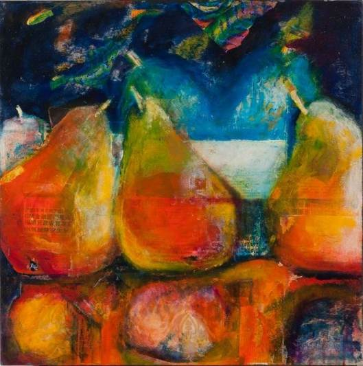 Asian Pears by Peggy Ann Turner
