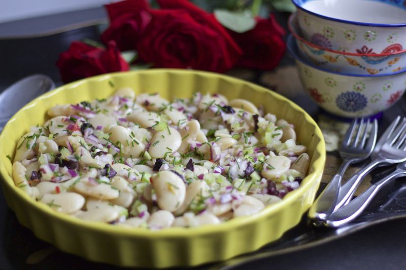 Celery Lima Bean Salad – Smart Food