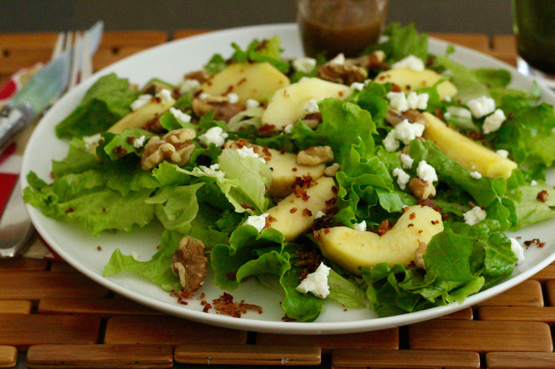 Caprice Salad with Maple Vinaigrette