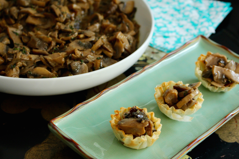 Multipurpose Mushrooms – Dinner Party Fare