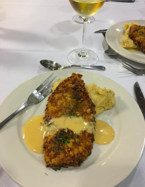 Asiago and Lemon Crusted Chicken with Lemon Buerre Blanc and Mashed Potatoes - Publix Aprons Cooking School