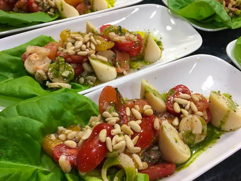 Hearts of Palm Salad – Apron's Cooking Class